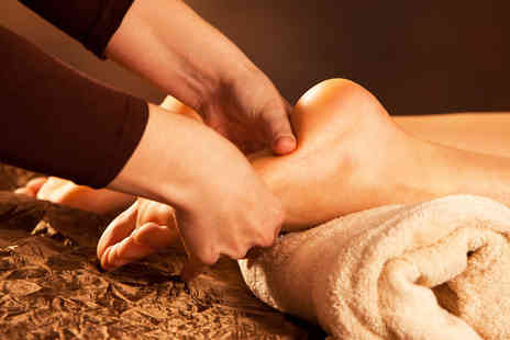 The Zen Shop - Reflexology session with a Swedish massage or Reiki - Save 49%