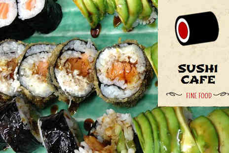 Sushi Cafe - Sushi Platter and Beer Battersea - Save 56%
