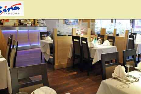 Bina Tandoori - Indian Meal for Two - Save 50%