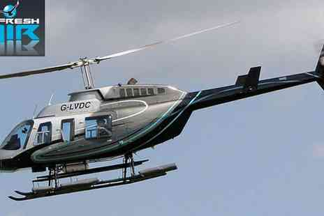 Fresh Air - Helicopter Tour of Oxford with Views of Blenheim Palace - Save 21%