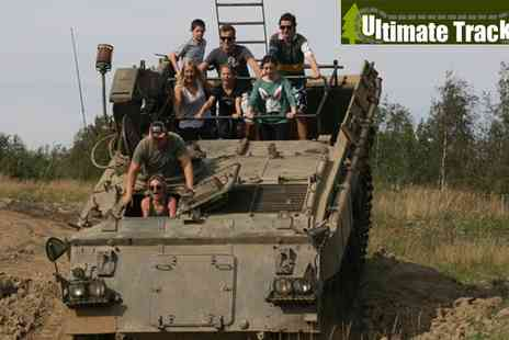 Ultimate Tracks - Yorkshire Off Road Military Tank and Truck Drive Session for Two - Save 61%