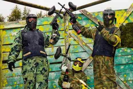 Nationwide Paintball - Unlimited Paintball for a Year Nationwide - Save 59%