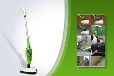 Supa Value - 1500W multi function 10 in 1 steam mop - Save 67%
