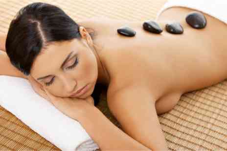 Sheer Class Nails - Hot Stone Massage - Save 50%