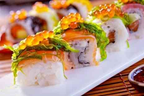 Koi Sushi & Noodle Bar - 40 Pieces of Sushi With Green Tea For Two - Save 44%