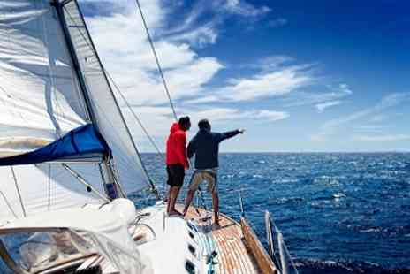 Global Sailing - Day of Sailing With Champagne Lunch For One - Save 38%