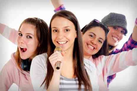 Star For A Day - Pop Star Recording Studio Party  - Save 84%