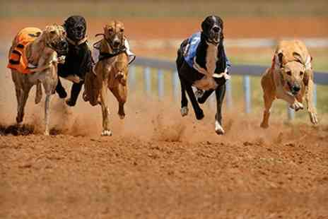 Peterborough Greyhounds - Race Night With Two Course Meal For Up To Four - Save 62%