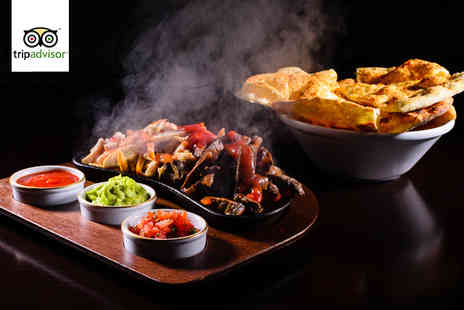 Chimichangos Mexican Grill - Three course Mexican meal for 2 including a tequila sunrise or sangria - Save 64%