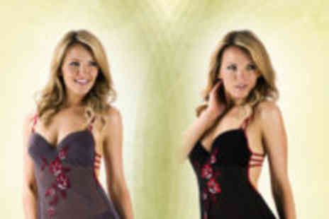 Love2Wear Lingerie - Floral chemise and briefs - Save 60%