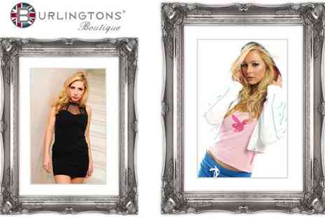 Burlingtons Boutique - Boudoir Makeover and Photo Shoot - Save 80%