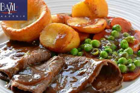 Windsor Hotel - Sunday Dinner with Accompaniments for 2 - Save 50%
