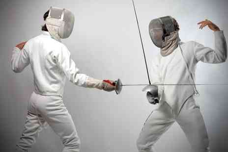 Fighting Fit Fencing - Four 75 Minute Fencing Classes - Save 71%