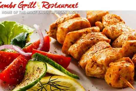 Jambo Grill - One Course Carvery African Jambo Grill - Save 41%