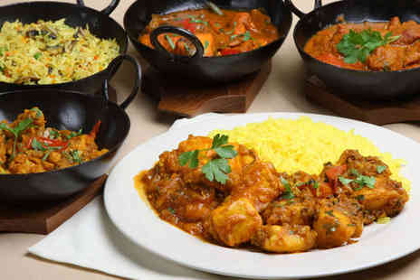 Masala Twist - Main Course and Rice Dish Each for Two People - Save 64%