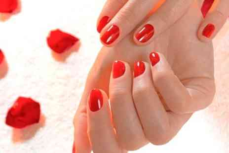 Hair Laser & Beauty - Shellac Nails With Mani or Pedi - Save 0%