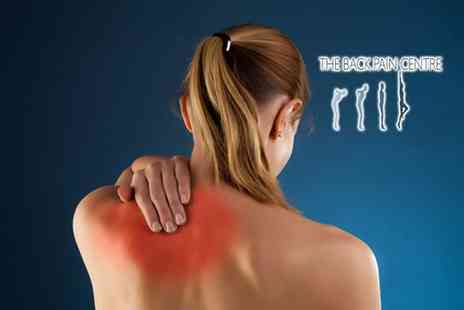 The Back Pain Centre - Two chiropractic treatments plus a consultation and X ray - Save 89%