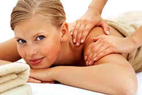 totally polished beauty salon - Full Body Massage Plus Facial - Save 64%