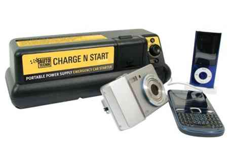 James Russell - In Car Charger Jump Starter Kit For Phones, Car Batteries - Save 63%