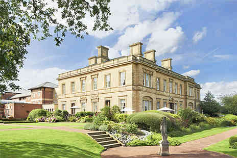 Oulton Hall Hotel - One night luxury Yorkshire spa break for 2 - Save 43%