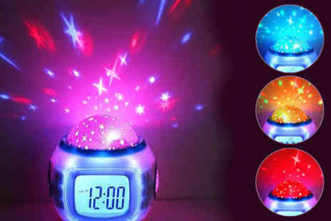 ePacificMall - Music Starry Sky Alarm Clock - Save 57%