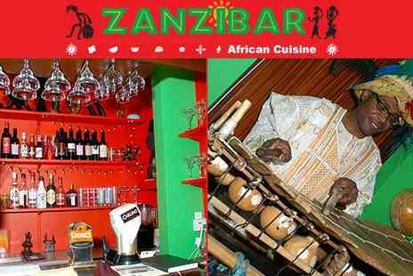 Zanzibar Sheffield - Caribbean and African Cuisine for two - Save 51%