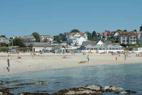 Falmouth Beach Hotel - One night stay for 2 including breakfast - Save 51%