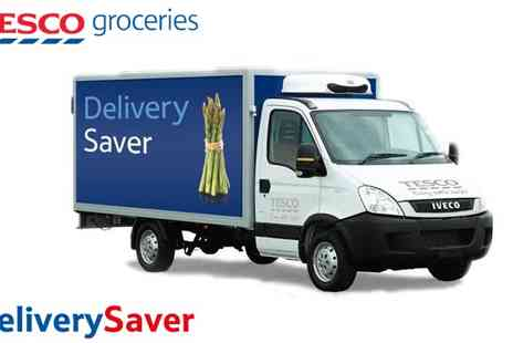 Tesco - Half price Delivery Saver for 6 months - Save 50%