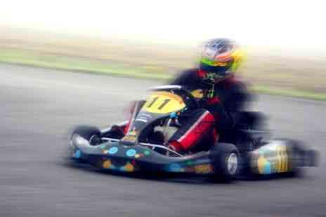 Elk Motorsport - Karting 35 Laps on 600m Outdoor Circuit - Save 50%