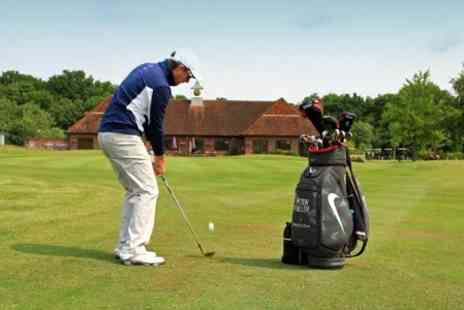 Sutton Green Golf Club - Golf Coaching One Lesson Plus Video Analysis - Save 53%