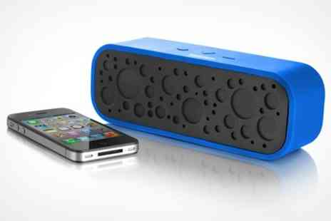 Deluxe Home Brands - Portable Bluetooth Speaker - Save 50%