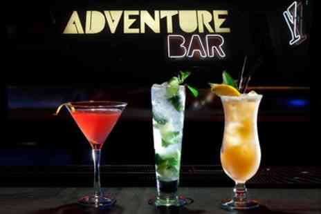 Adventure Bar & Lounge - Four Cocktails - Save 67%