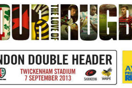 Premiership Rugby - One Junior Ticket to See the London Double Header - Save 10%
