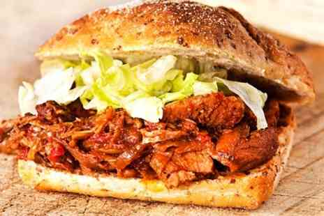 Smokeys - Two Course American Chicken or Pulled Pork Meal For Two - Save 56%