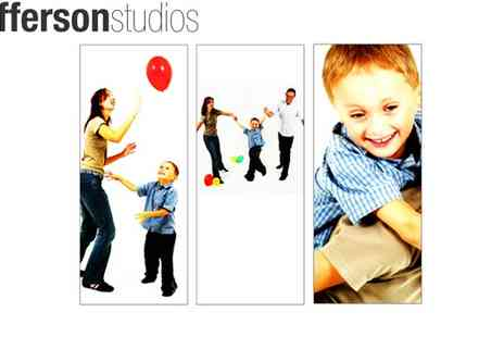 Jefferson Studios - One Hour Family Photoshoot - Save 95%