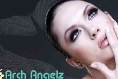 Arch Angelz - Eyelash Extensions Plus Choice of Eyebrow Shaping Treatment - Save 58%