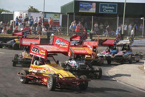 Skegness Stadium - Two tickets to watch stock cars, monster trucks - Save 41%