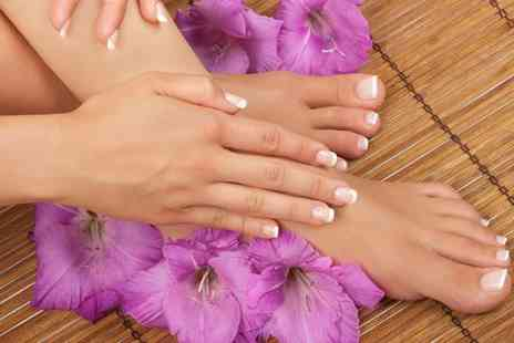 Beauty Within by Sonia - Shellac fingers and toes with a complementary mini mani pedi - Save 20%