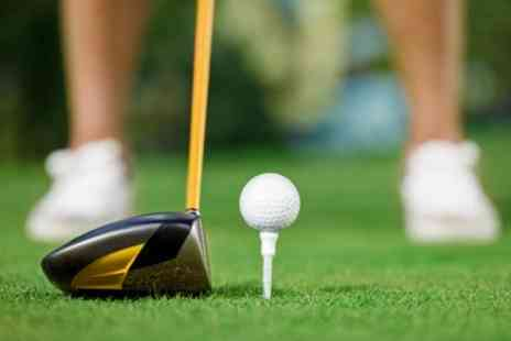 Manston Golf Centre - Golf Day For Two With Lunch and Hot Drink - Save 61%