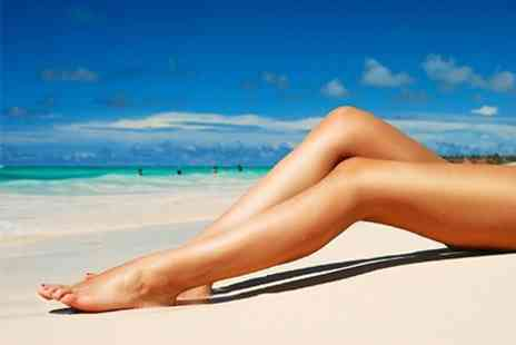 Sun & Moon Beauty - Waxing Half Legs, Underarms, Bikini Line and Eyebrows - Save 50%