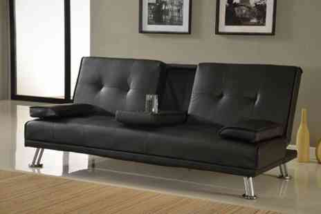 GRS Gadgets - Indiana Three Seater Sofa Bed - Save 65%