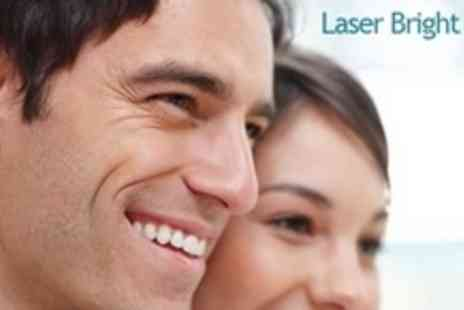 Laser Bright Smile - Laser Teeth Whitening Treatment - Save 61%