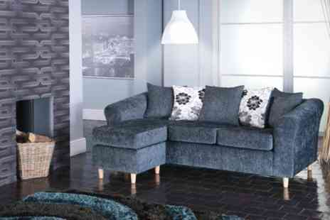 Furniture Wholesale Central - Isabella Fabric Corner Sofa - Save 67%