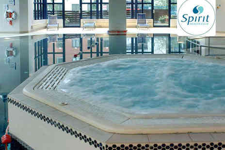 Spirit Health Club - Spa Day Pass with Use of Facilities for One  - Save 60%