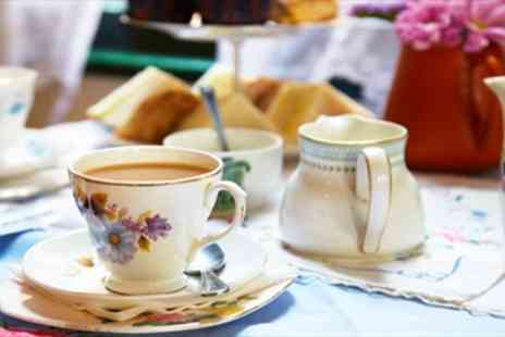 Miss B's Tea Rooms - Top Rated Afternoon Tea for Two with Bubbly - Save 43%