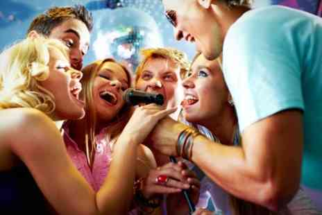 Nine Rooms Karaoke - Two Hour Party With Drinks For Six - Save 77%