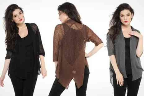 Kurt Muller - Lace Cardigan Wrap - Save 50%
