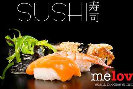 Me Love Sushi - Sushi and Drinks Voucher - Save 67%