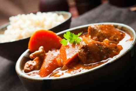 The Original India Garden - Two Course Indian Meal For Two - Save 55%