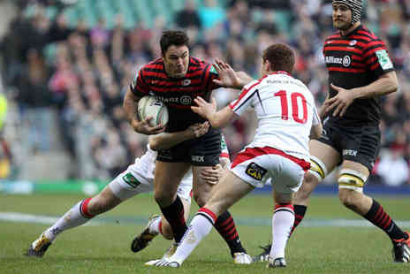Saracens - Childs ticket to see Saracens vs Toulouse in the Heineken Cup - Save 50%